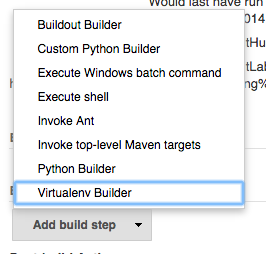 Virtualenv Builder