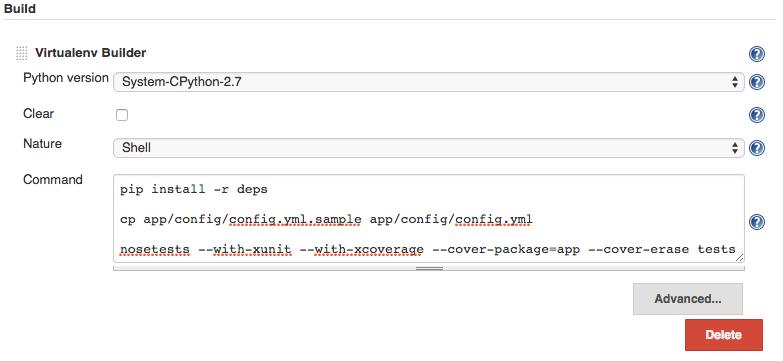 Virtualenv Shell Script