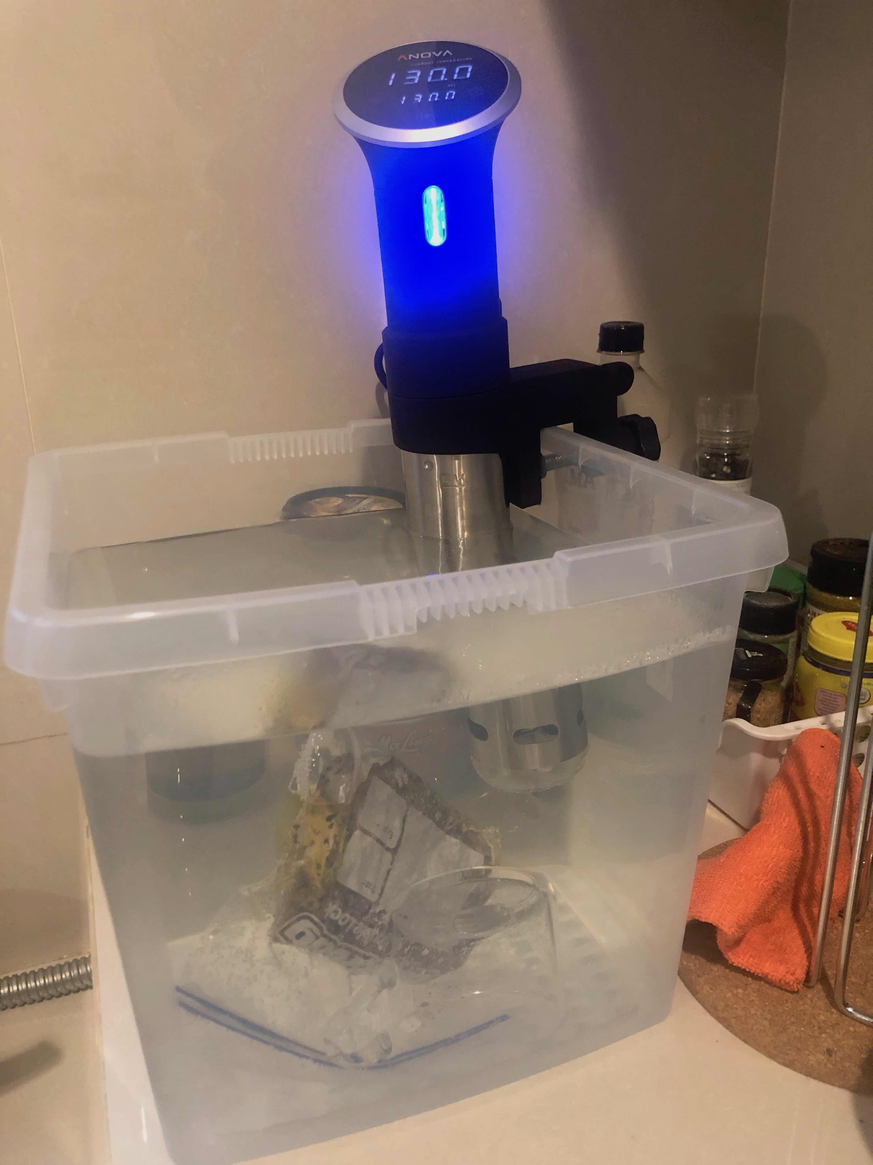 Cooking My Steak Sous Vide - Medium